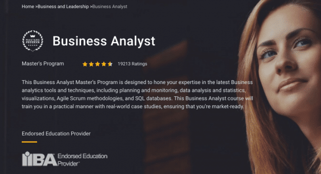 Simplilearn Business Analyst Course Free Download 2020