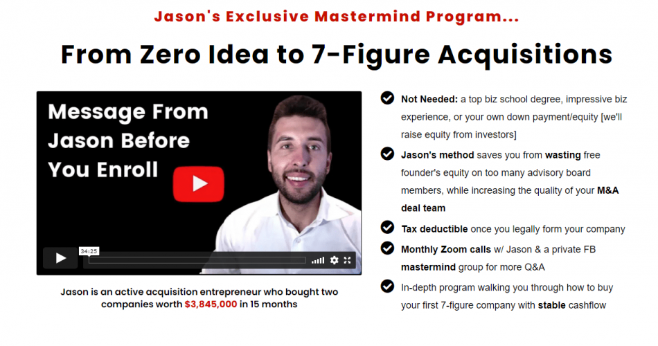 From Zero Idea To 7 Figure Acquisitions Download Jason Paul Rogers